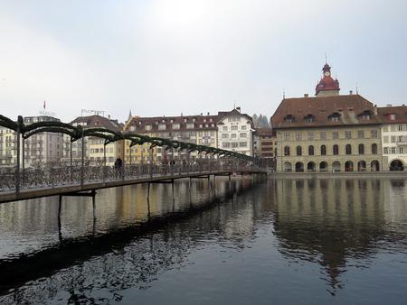 Rathaussteg bridge, Lucerne - Switzerland