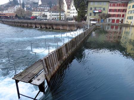 Needle Weir (Nadelwehr), Lucerne - Switzerland