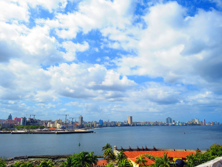 View of Havana from Castle of The Three Kings - Cuba