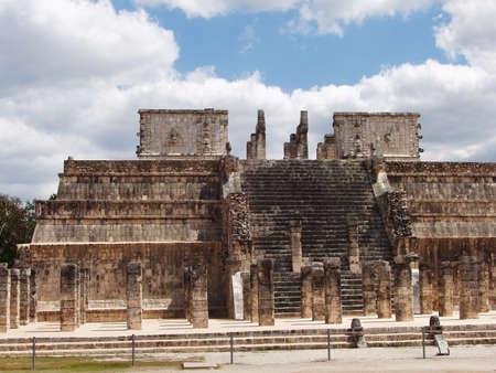 Temple of the warriors, Chichen Itza - Mexico