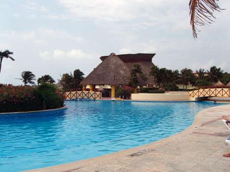 Resort in Yucatan - Mexico Editorial