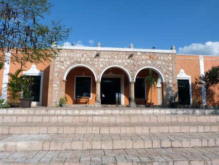 Modern Mexican house