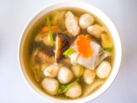 fish ball: fish ball soup