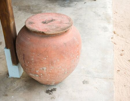 earthen: Big earthen jar