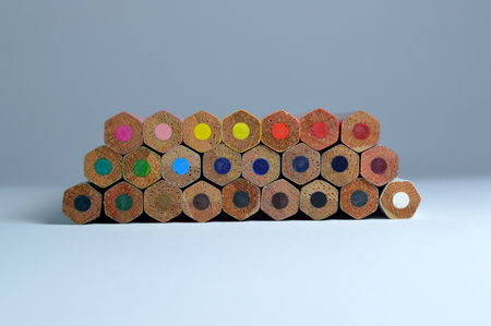 Color pencils photo for your creative projects or school publications.