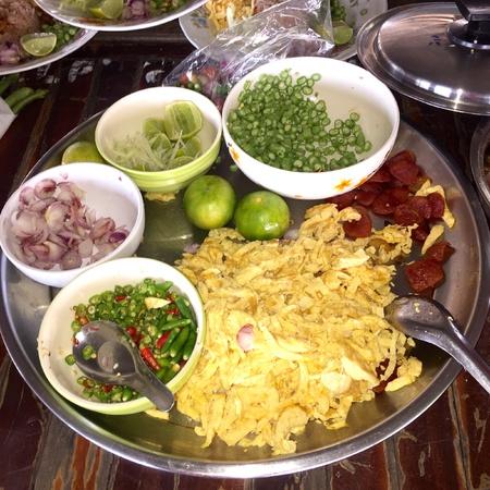 thai food: Beautiful Fresh Thai Food