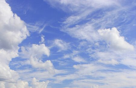 aire puro: Bluesky es un aire fresco y natural Foto de archivo