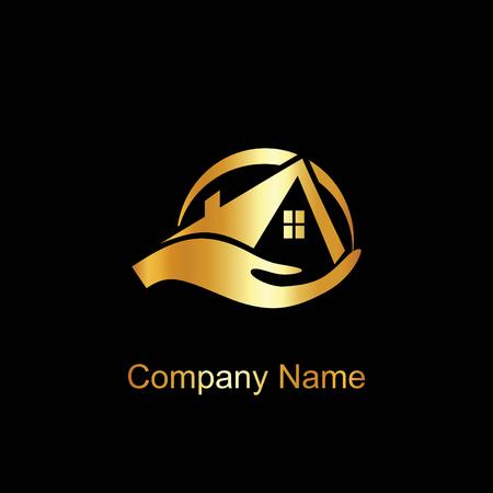 house logo: House care logo template Illustration