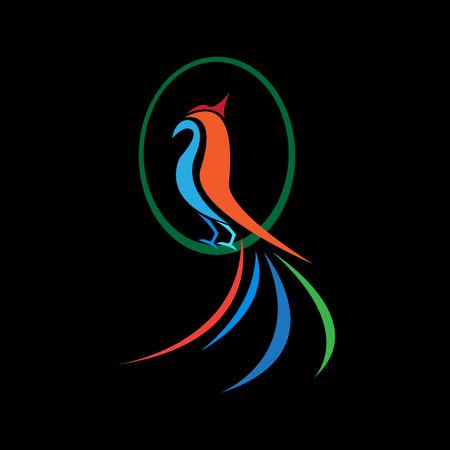 phoenix vector image Vettoriali