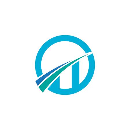 growth business vector logo Иллюстрация