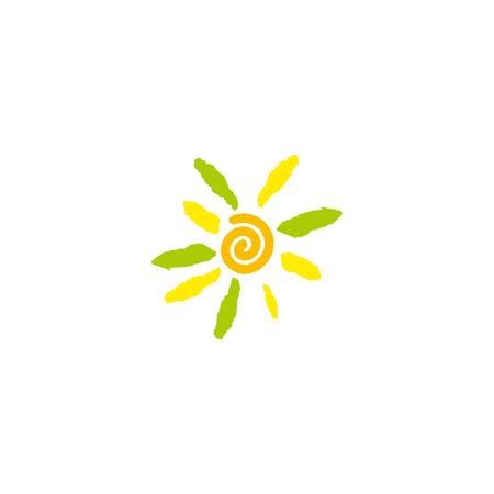 sun flower vector image Illustration
