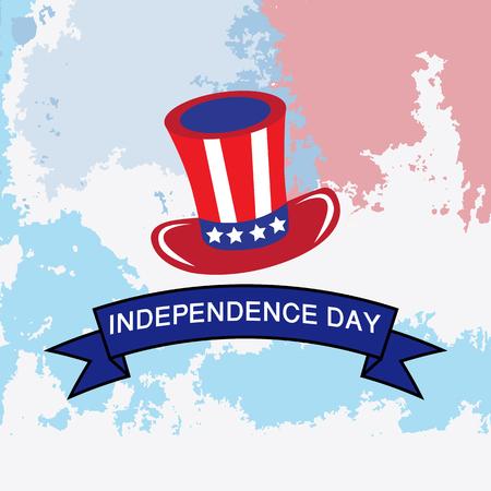 american independece vector image