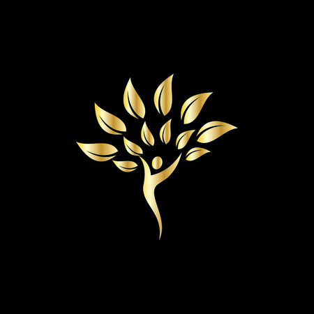 nature leaf for people business logo
