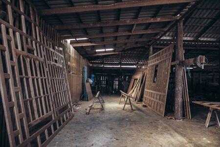 interior spaces: work space Stock Photo