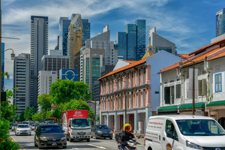 Chinatown is a subzone and ethnic enclave located within the Outram district in the Central Area of Singapore 報道画像