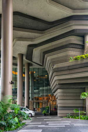 Parkroyal on Pickering (stylised as PARKROYAL on Pickering) is a luxury hotel located in the Central Area of Singapore.[3] The buildings