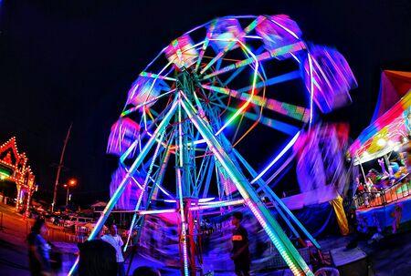 Ferris wheel at Wagga fun