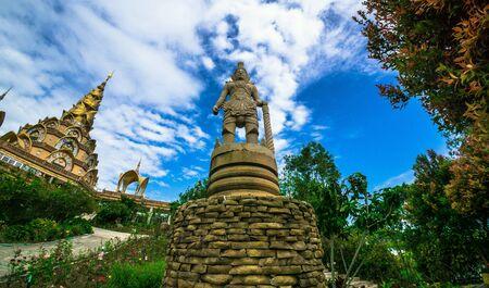 Beautiful sculptures in Thailand