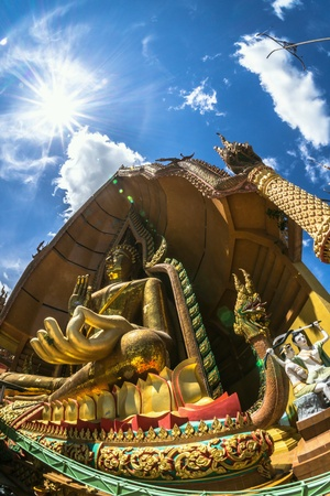 Big Buddha in Thailand Stock Photo