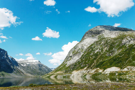 windless: Lake on the top of mountains, in Jotunheimen national park, Norway