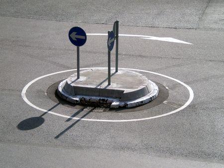 roundabout: Roundabout Stock Photo