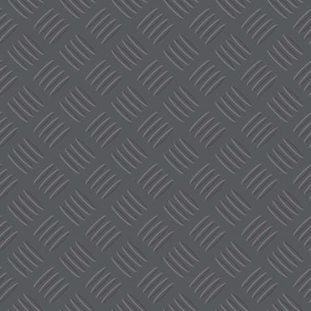 checker plate: dark grey iron checker plate pattern illustration