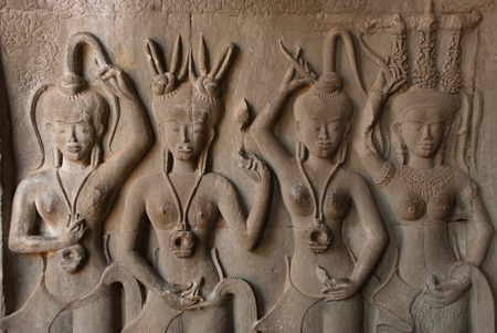 subsequently: Angkor Wat was first a Hindu, then subsequently a Buddhist, temple complex in Cambodia and the largest religious monument in the world