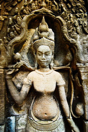 ancestors: Ta Prohm is the modern name of the temple at Angkor, Siem Reap Province, Cambodia, built in the Bayon style largely in the late 12th and early 13th centuries and originally called Rajavihar