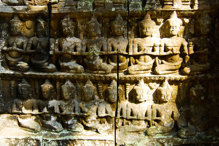 Ta Prohm is the modern name of the temple at Angkor, Siem Reap Province, Cambodia, built in the Bayon style largely in the late 12th and early 13th centuries and originally called Rajavihar