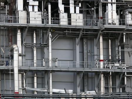 Turbigo power station. Milan 版權商用圖片