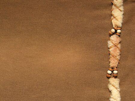 Brown Jeans mit Dekoration