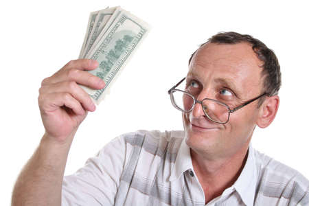 senior with money Stock Photo - 763595