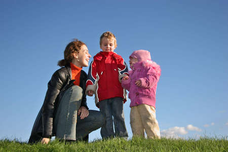 mother with children Stock Photo - 763267