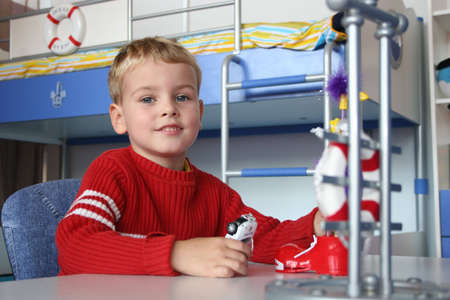 child in playroom Stock Photo - 811007