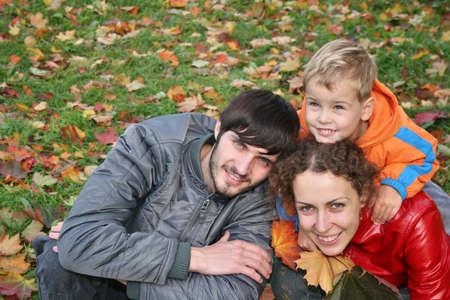 autumn family Stock Photo - 811053
