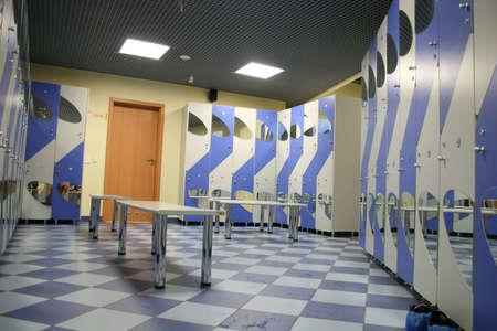 pool halls: locker