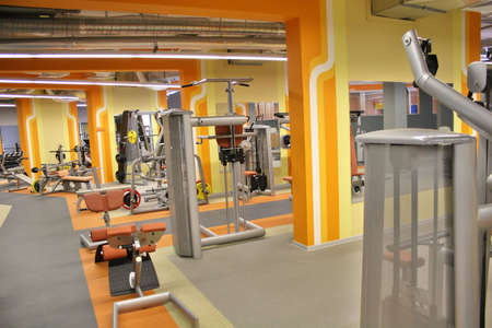 calisthenics: gym interior