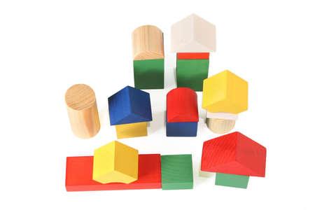 wood toy city photo