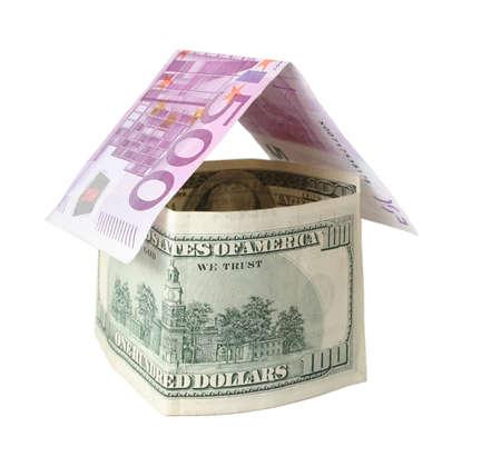 euro dollar house photo