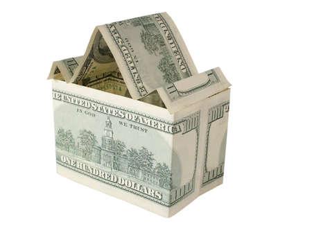 dollar house Stock Photo - 811211