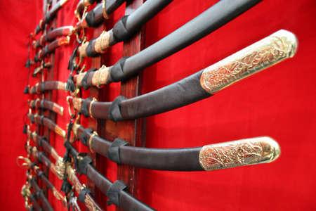 slasher: swords Stock Photo