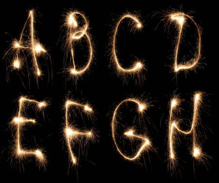 christcross: alphabet sparkler (see other letters in my portfolio)