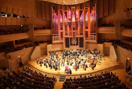 orkiestrę symfoniczną Zdjęcie Seryjne