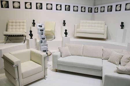 white sofas Stock Photo - 811387