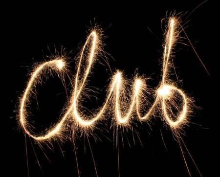 dance club: club sparkler