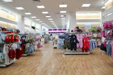 retail display: child clothes shop
