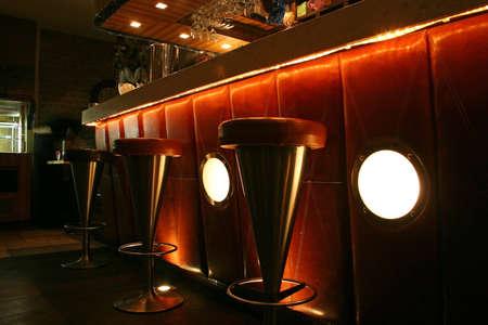 shelve: bar interior