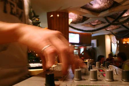 dj hands photo