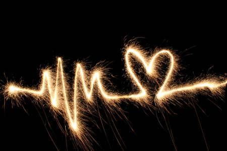 esitazione: Onda cuore sparkler