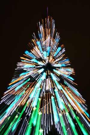 zooming cristmas tree photo